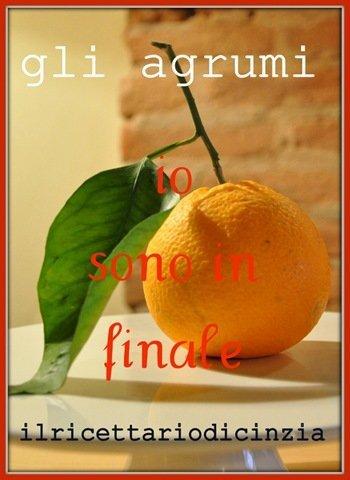 Crema catalana all'arancia finalista al contest di Cinzia!
