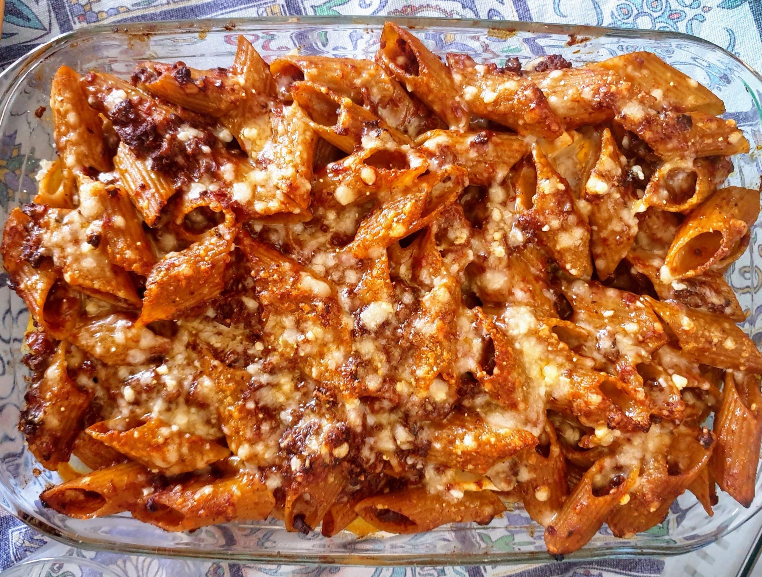 La ricetta della pasta al forno della nonna