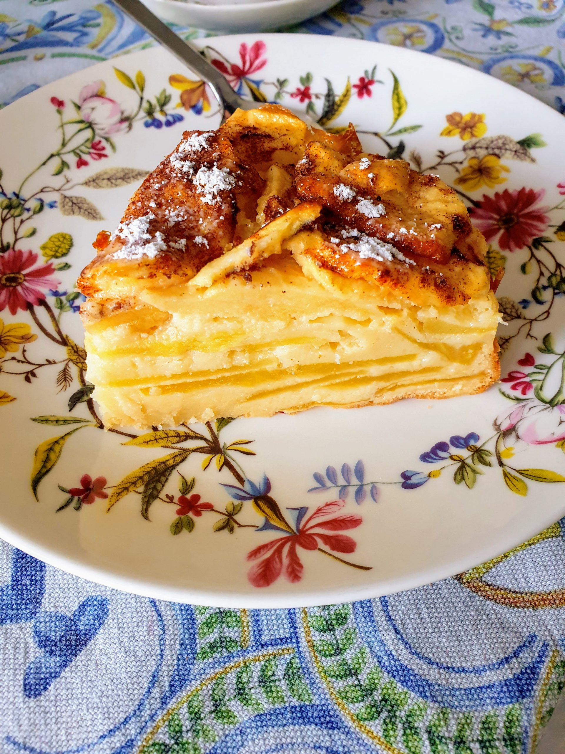 Torta di mele invisibile